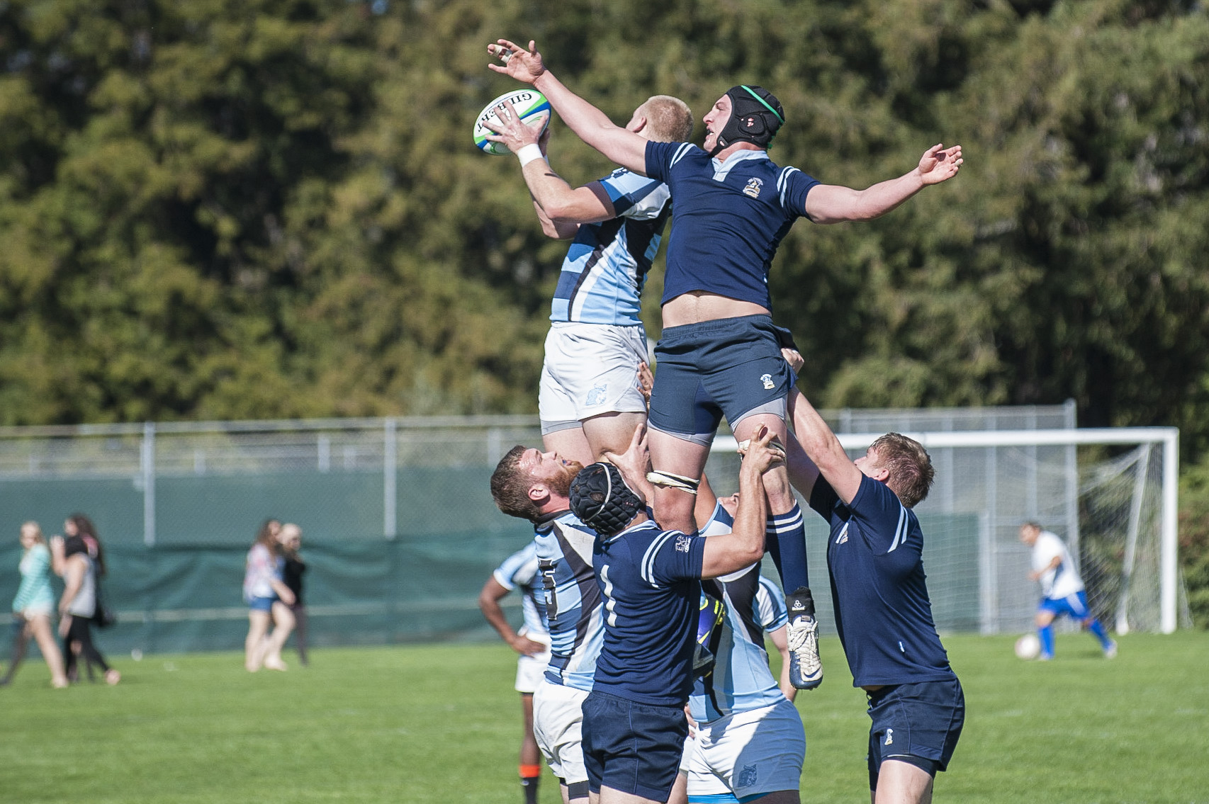 STAR // Connor Gibson   Rugby came out  with a 41-21 win. Check out page 12 for more photos.