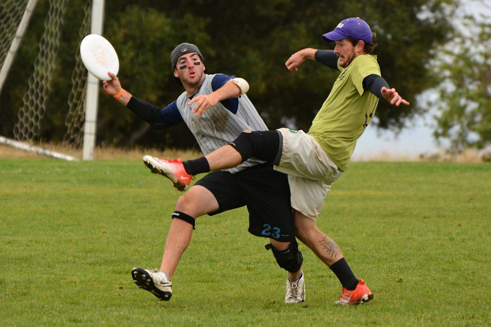 COURTESY // Shane Tracy   Shane Tracy (left)  is the captain of the men's ultimate frisbee team.