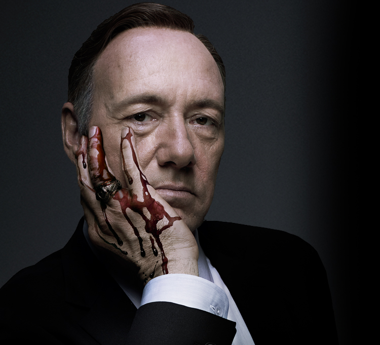 """facebook.com   Vice President Frank Underwood (Kevin Spacey) returns in the second season of """"House of Cards"""" exclusively on Netflix."""