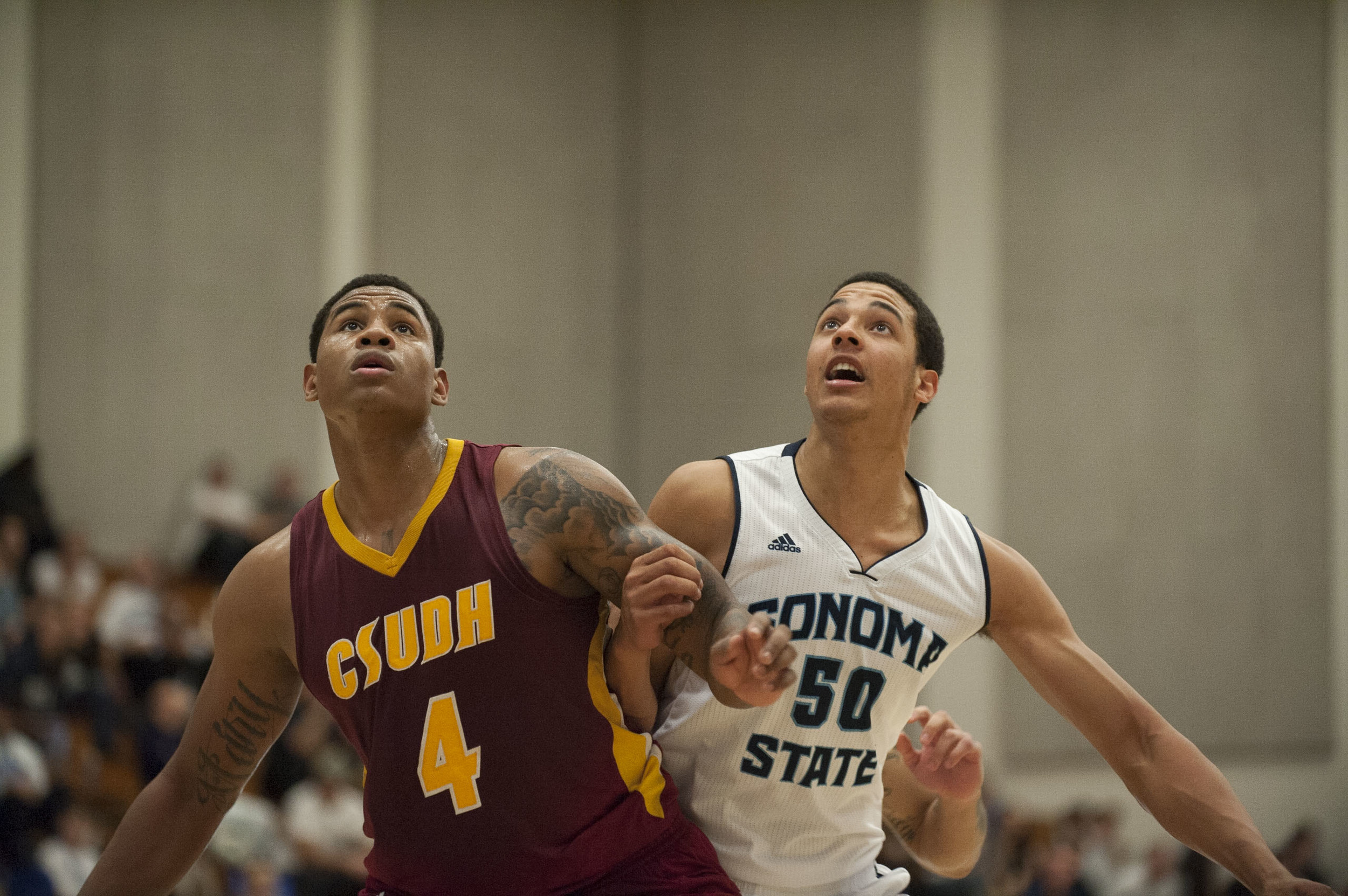 STAR // Connor Gibson   The Seawolves defeated Cal State Dominguez Hills 61-53.