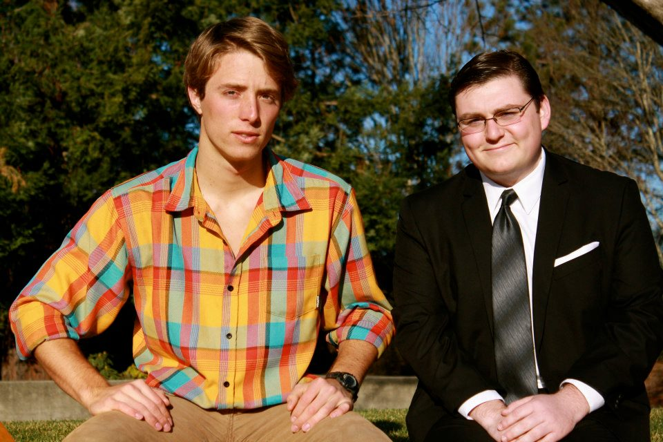 facebook.com   Mac Hart (left) and Anthony Gallino (right) were elected last year as president and vice president, respectively, of the Associated Students.