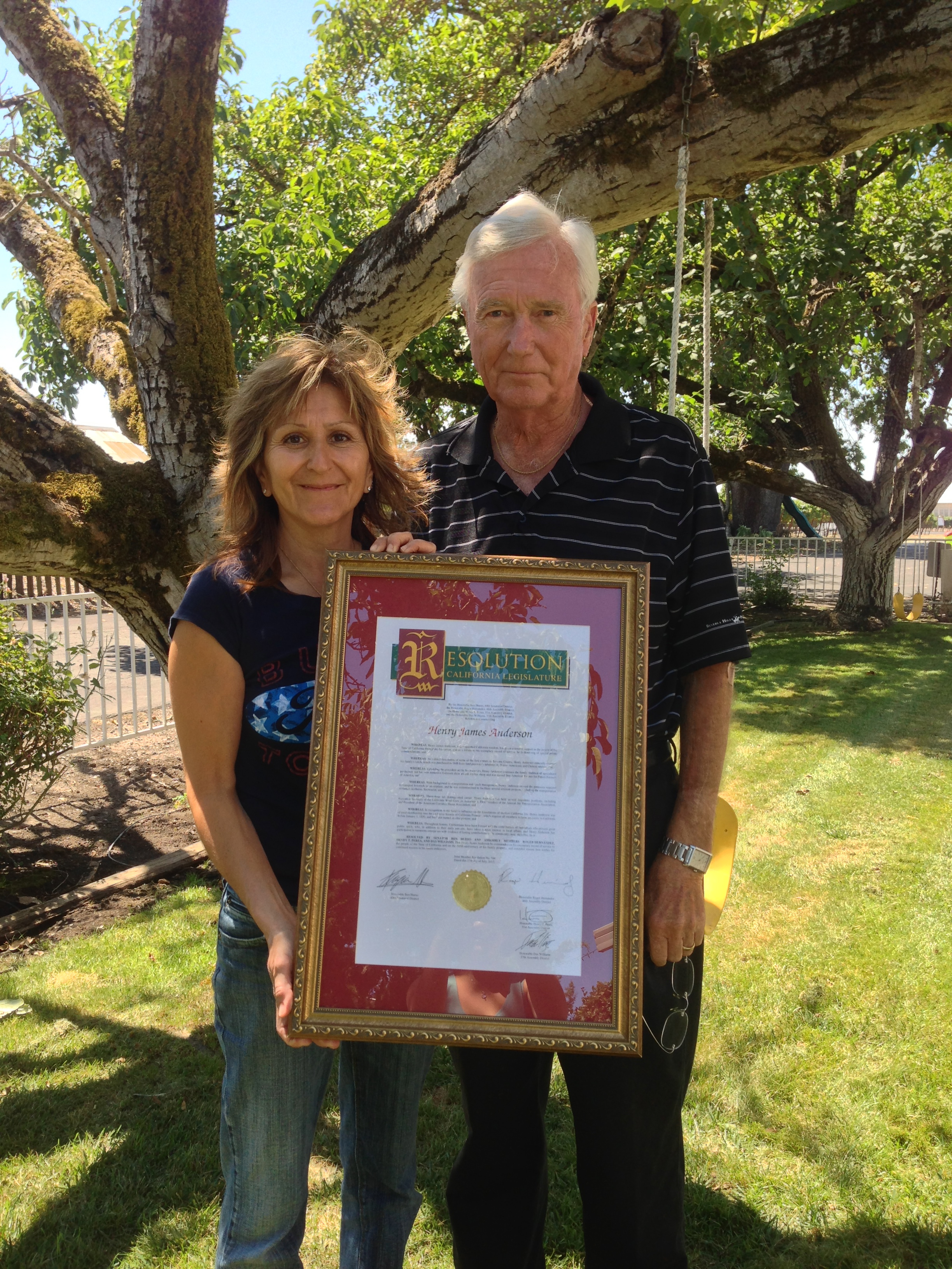STAR // Micaelyn Richmeier    The Anderson family has long been a cornerstone of Sonoma County business and culture.