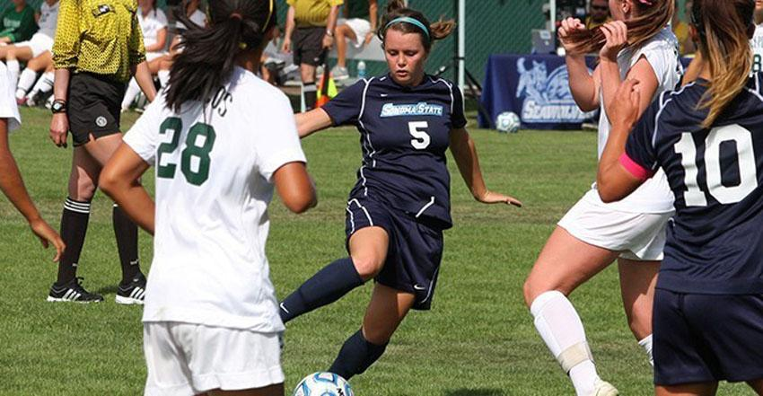 COURTESY // sonomaseawolves.com    Team captain JJ McFarlin scored the golden goal that propelled the Seawolves to victory.