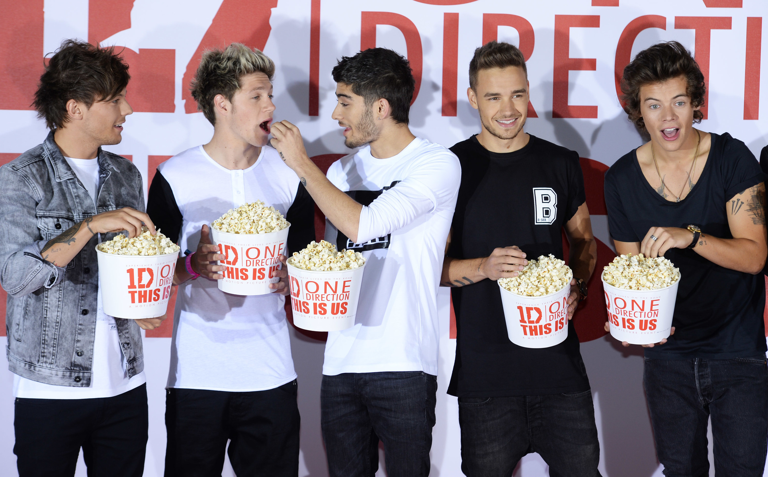 onedirectionfans.org    One Direction made the move to the big screen this past weekend in 'One Direction: This is Us.'