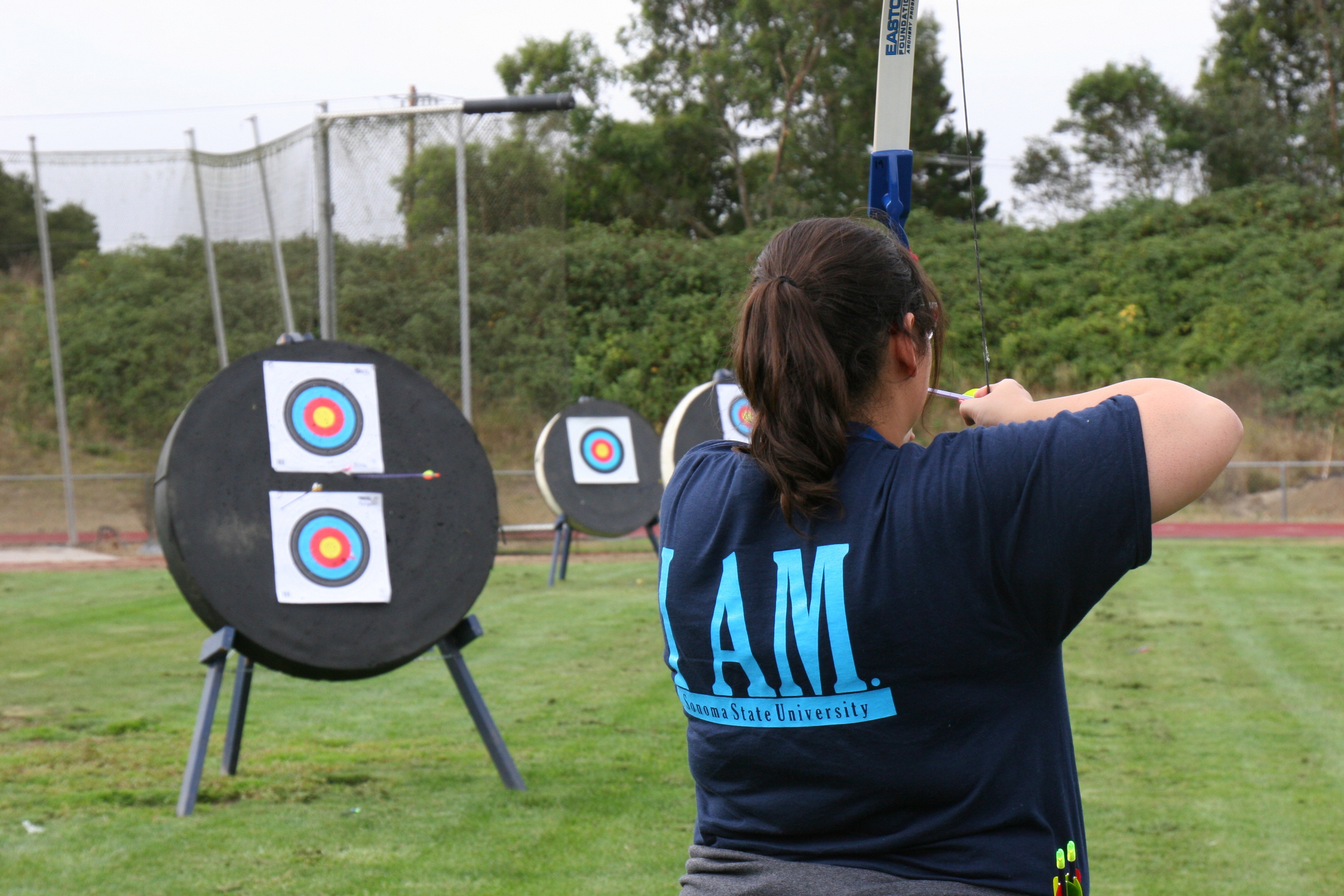 COURTESY //  Jeffrey Reeder    While you may not need to train for the next Hunger Games, archery is an exciting outdoor activity for anyone regardless of experience.