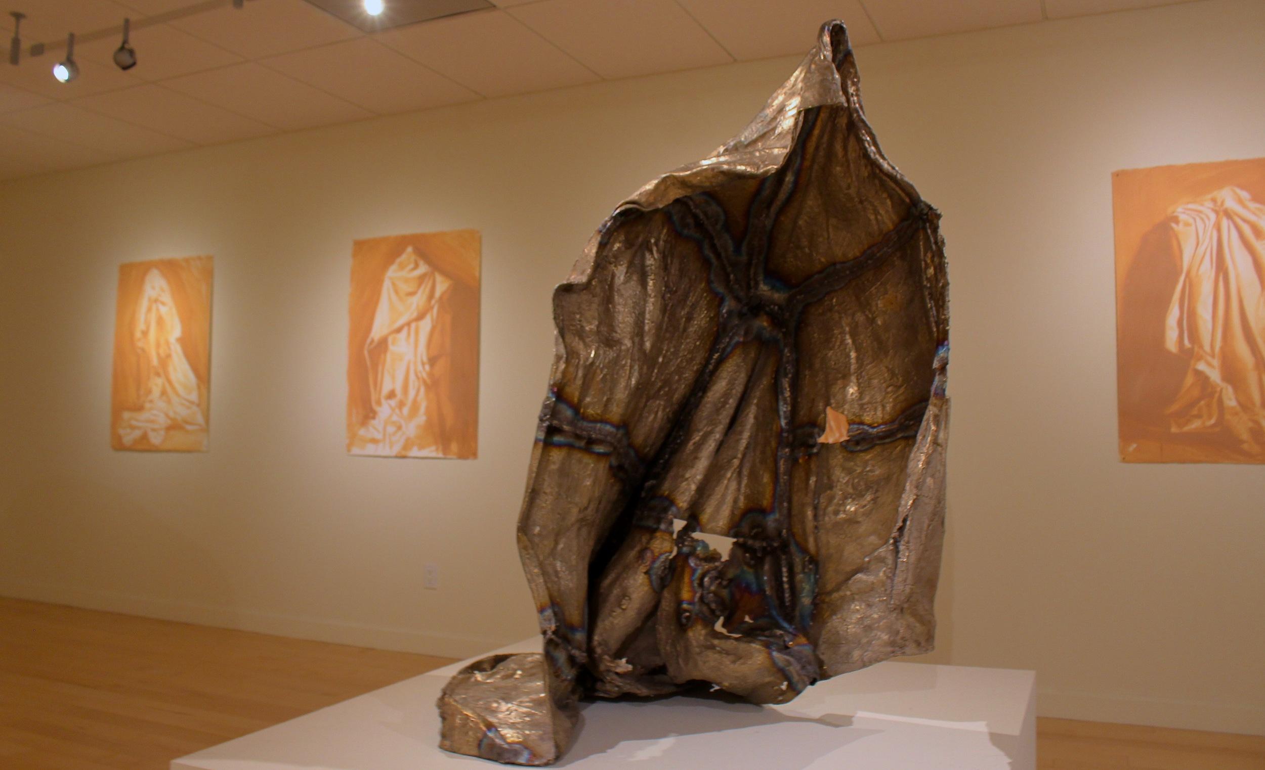 "STAR // Brandon Stachnik   Sonoma State University alumnus Frank Ryan's feature exhibit at the University Library Art Gallery is entitled ""Cloak."""