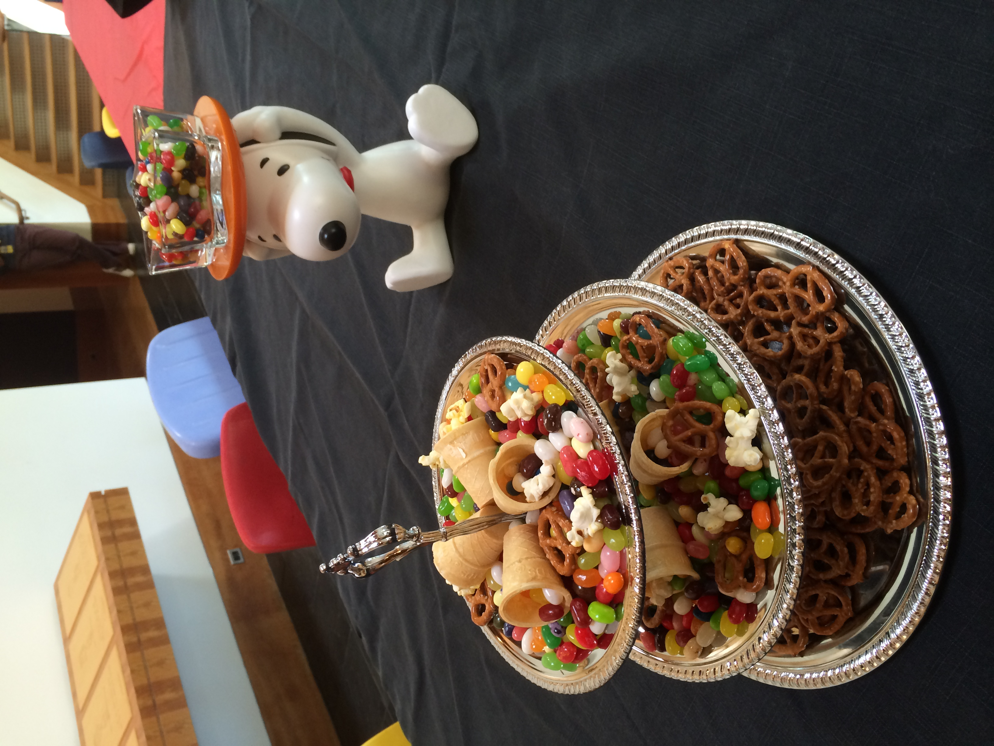 """STAR // Edward Goquingco   Treats offered at the """"Charlie Brown Thanksgiving"""" event."""