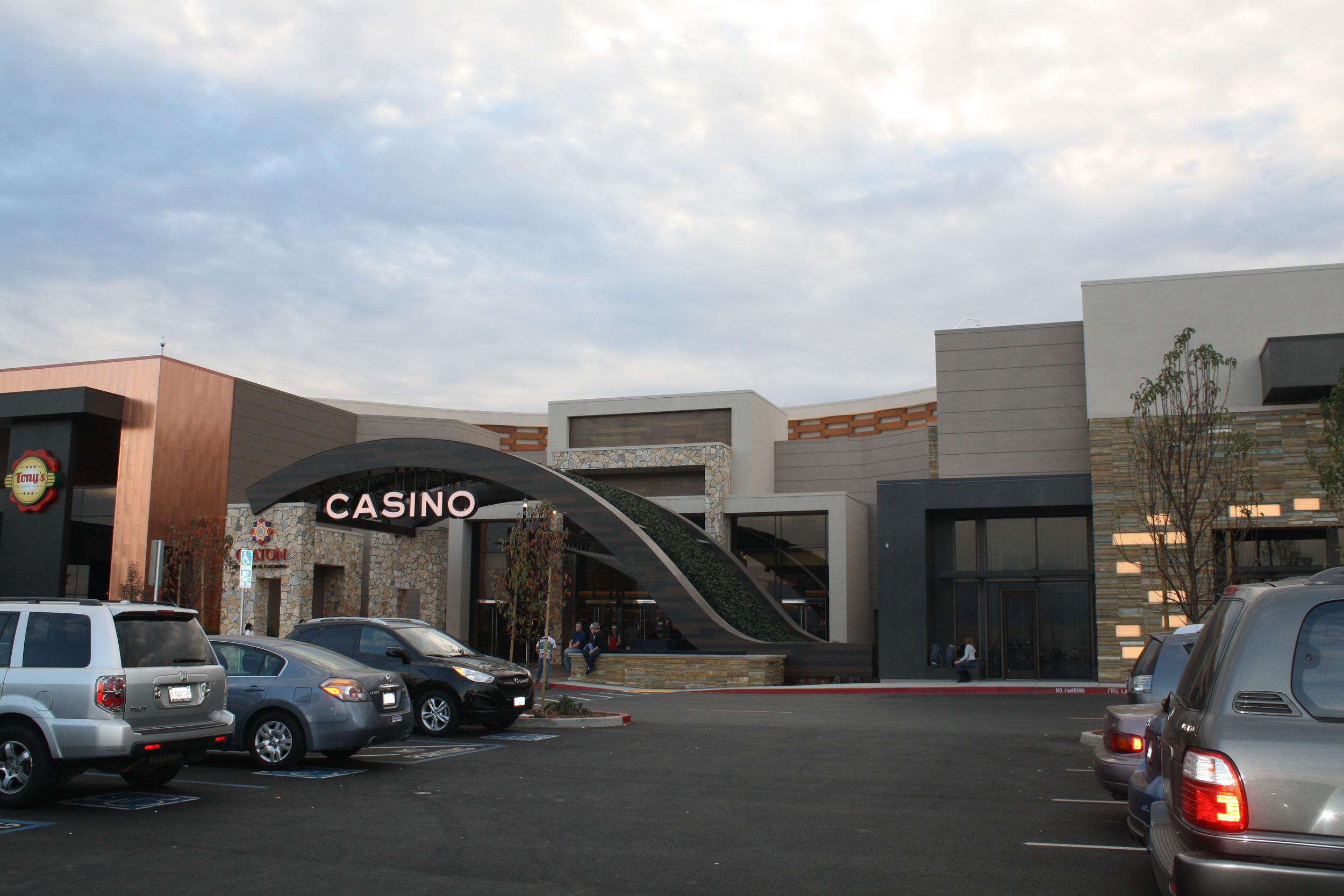 COURTESY // Thomas Kohlmeyer    Graton Resort and Casino is the largest gambling facility in the state.