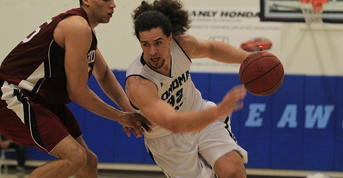 sonomaseawolves.com  Senior forward JJ Mina scored 24 points in the final two games of the season. Junior forward James Slade made a layup that sent the Seawolves to overtime against Dominguez Hills.