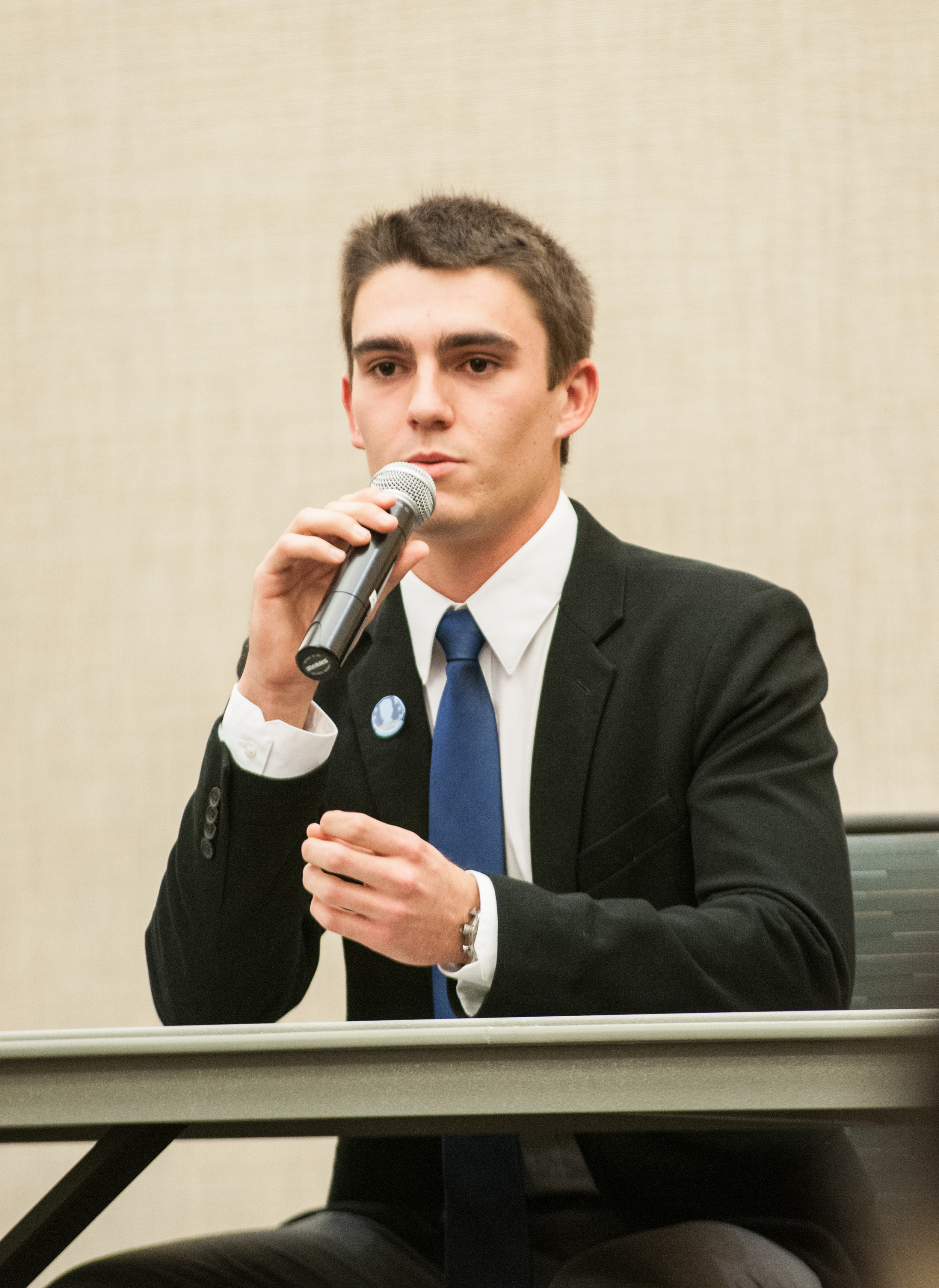 STAR // Gustavo Vasquez   Candidates for Associated Students President participated in a presidential debate on March 3, showcasing their strengths and weaknesses. See more photos of the presidential debate on page 12.