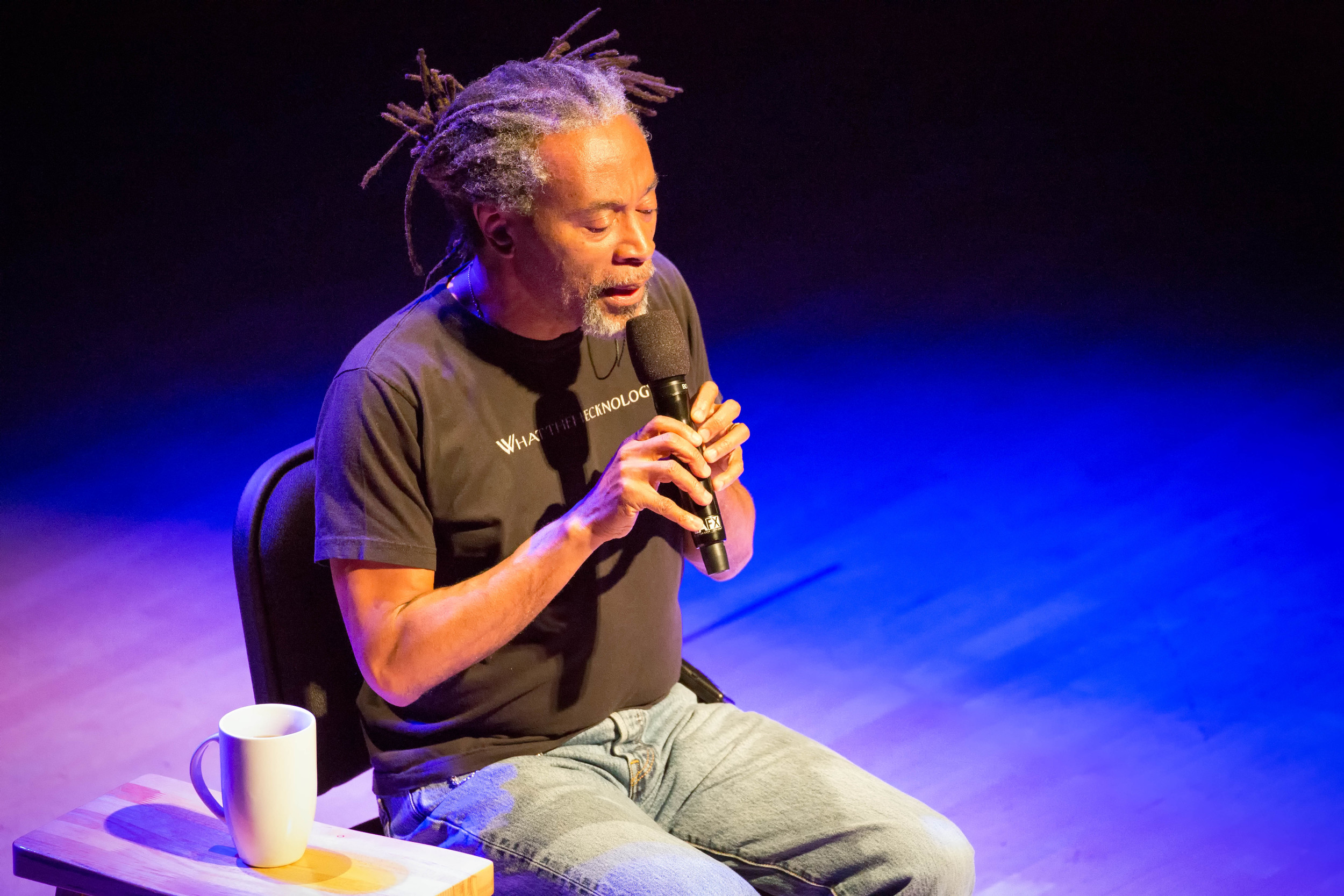 """COURTESY // Nikki Anderson   Bobby McFerrin performed a variety of songs at the Green Music Center on Friday, including songs from the motion picture,""""The Wizard of OZ."""""""