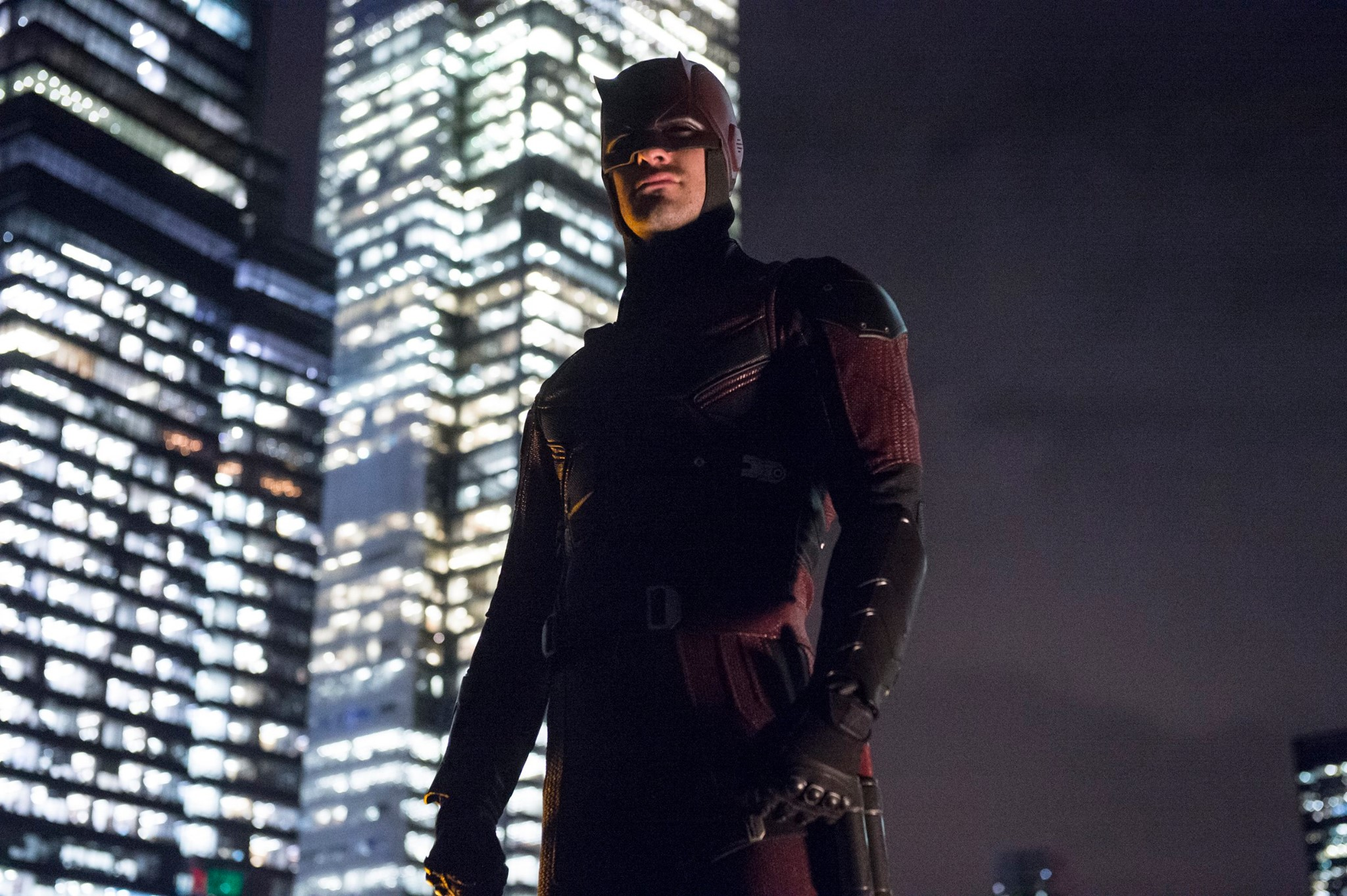 "facebook.com    The Netflix exclusive, ""Marvel's Daredevil,"" features actor Charlie Cox as Daredevil."