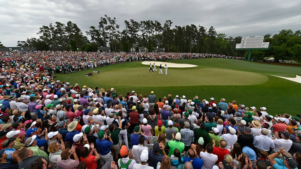 facebook.com   21 year-old Jordan Spieth wins the 2015 Masters by four strokes after a bogey on hole 18.
