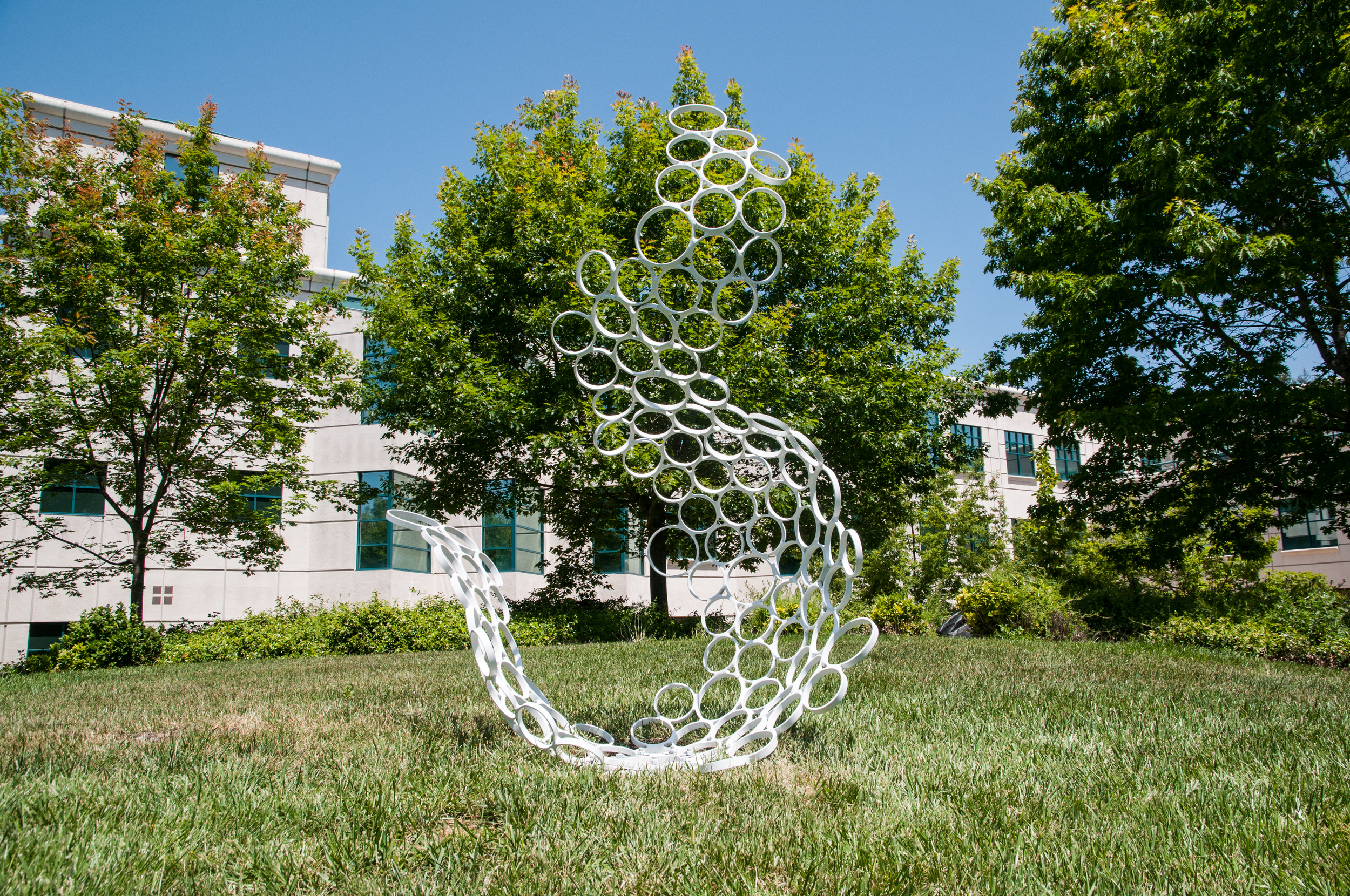 STAR // Gustavo Vasquez    Eleven Sonoma State University students have been working throughout the semester as part of the Commencement Sculpture course to create art showcased throughout campus in days approaching commencement.