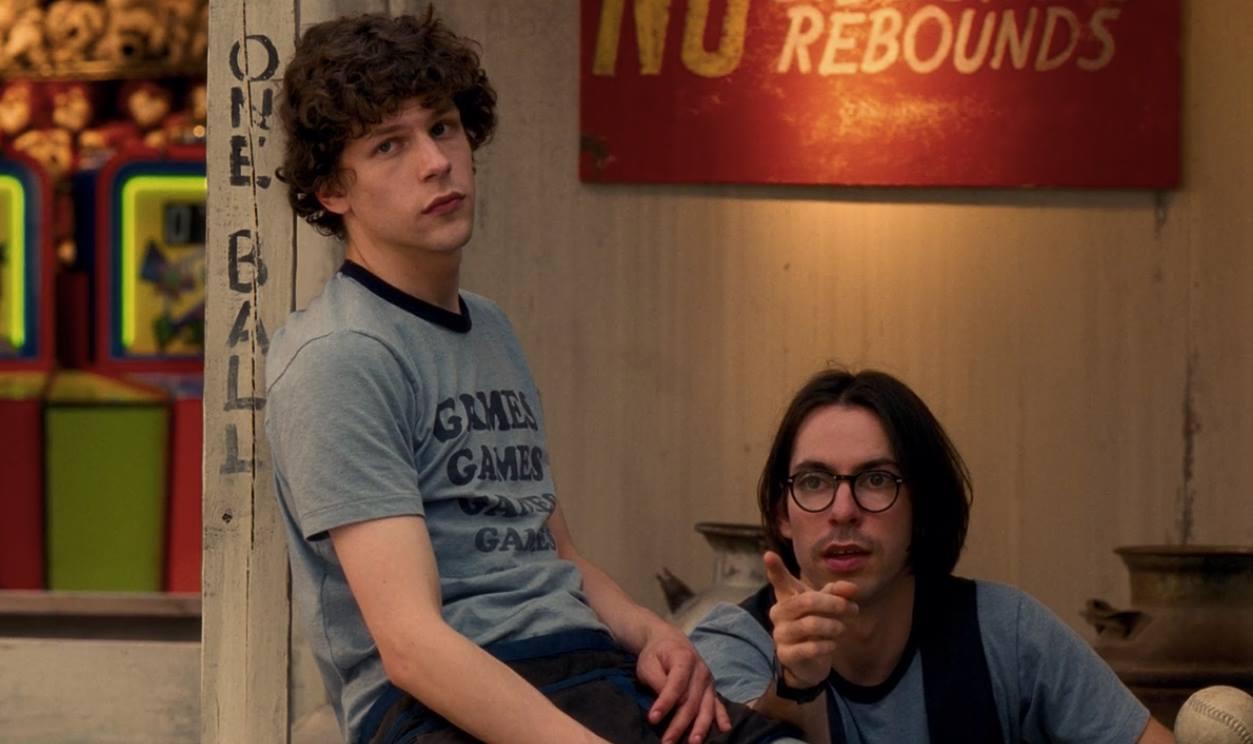 """facebook.com  Eisenburg stars in the 2009 film """"Adventureland."""""""
