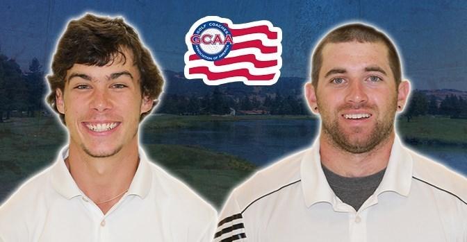 sonomaseawolves.com   Brandon Lee and Nicolas Daniels earned All-America Scholar honors this year.