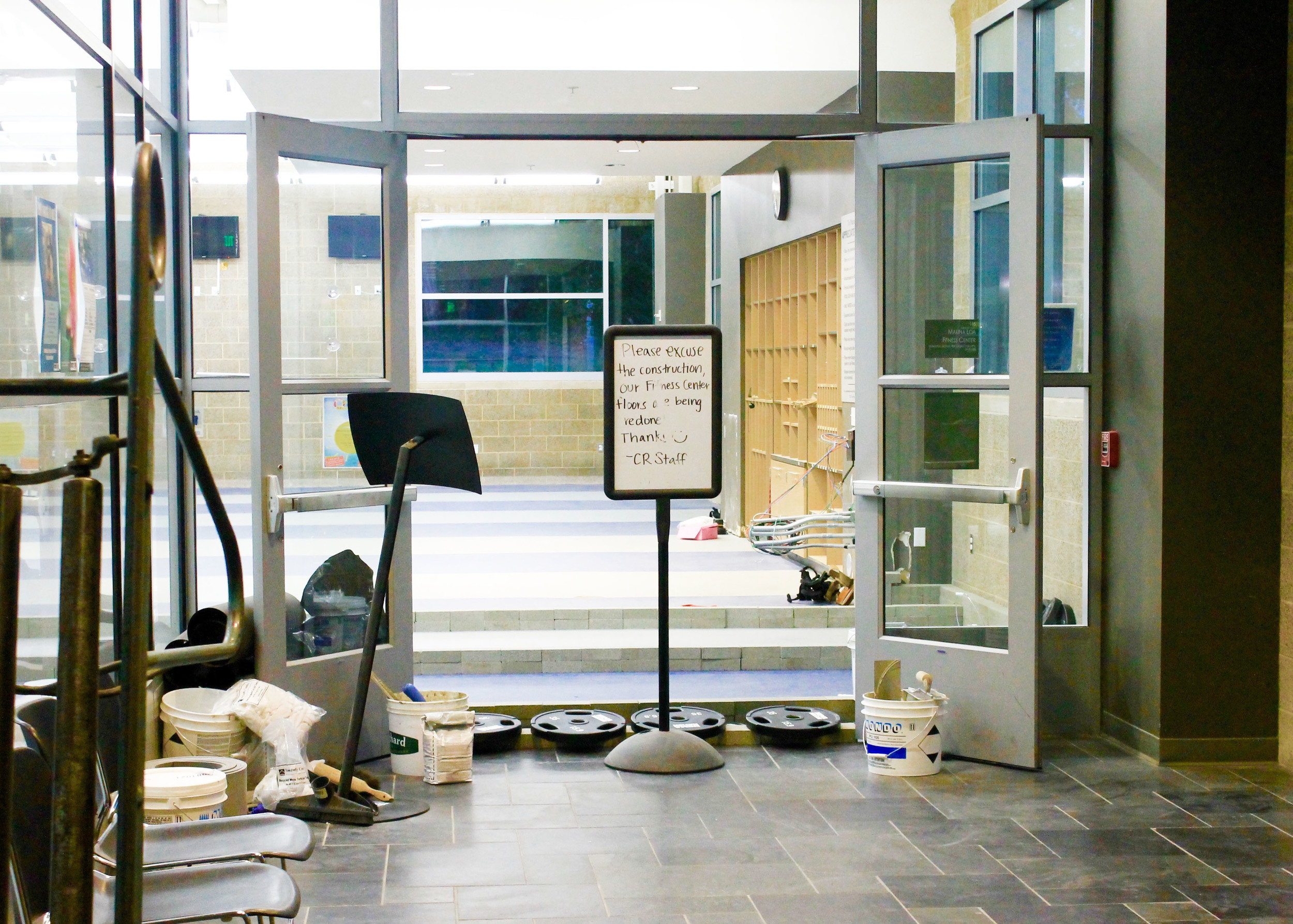 Sonoma State University's Recreation Center remodel will be finished Sept. 10