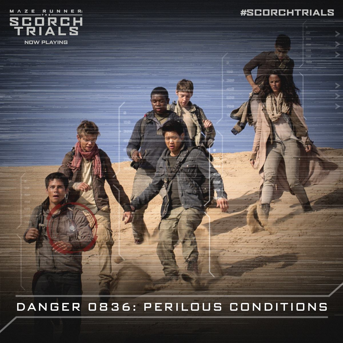 """facebook.com  """"The Maze Runner: The Scorch Trials"""" released in theaters on Friday."""