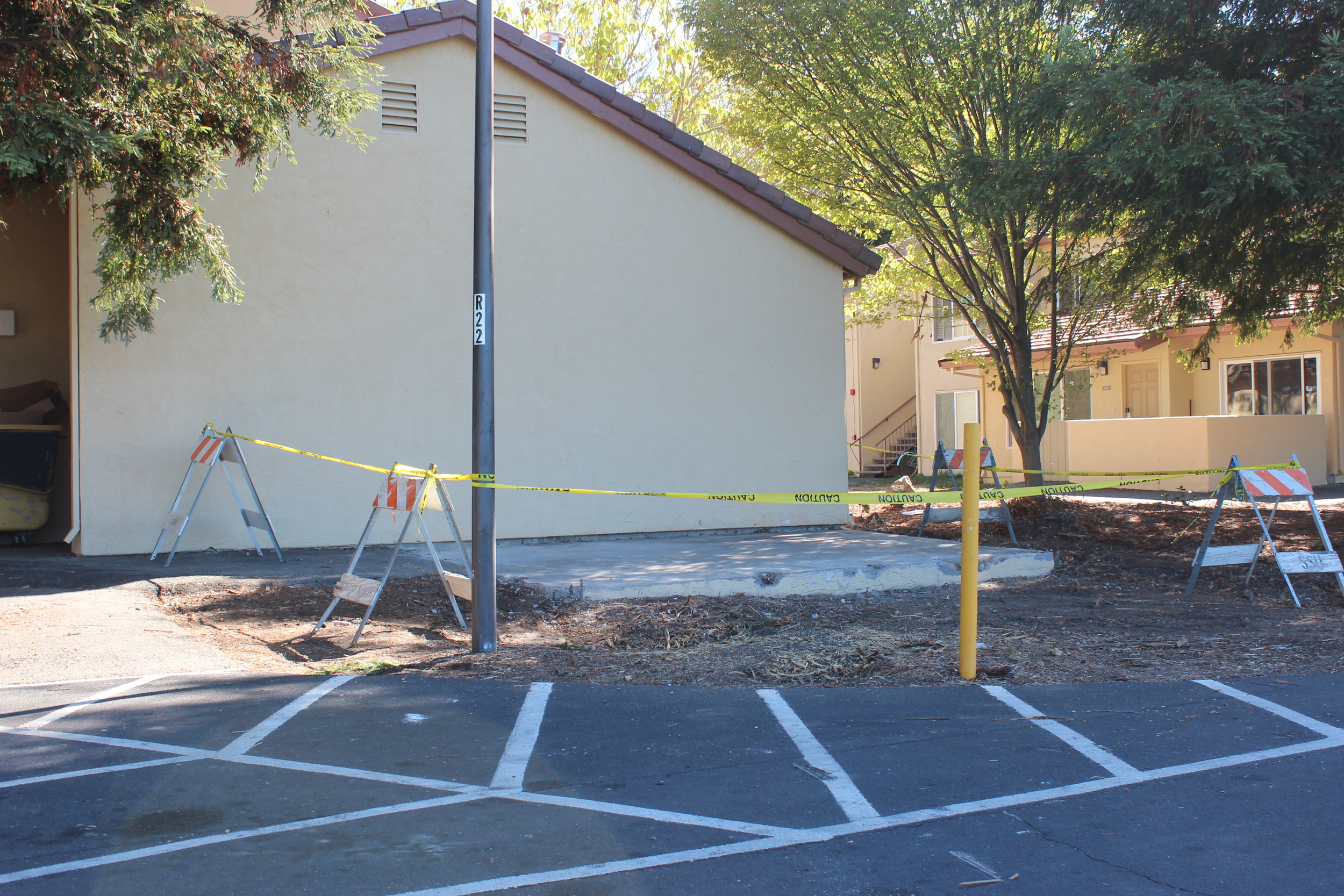 Residents of Cabernet Village in the freshmen dorms were greeted with unfinished construction upon moving in August.
