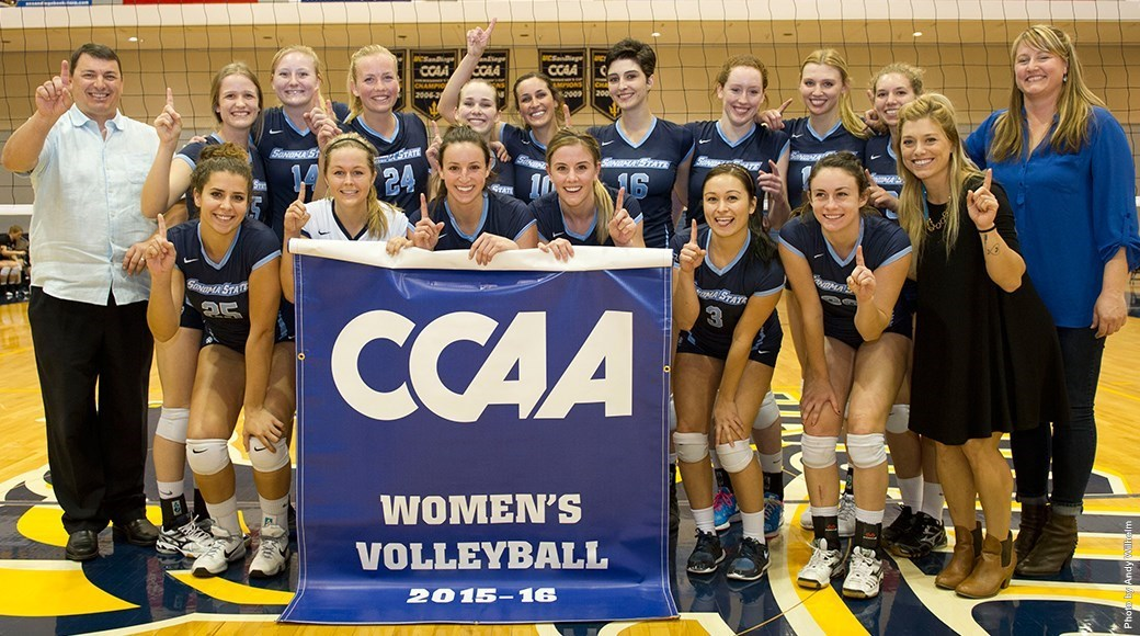 sonomaseawolves.com   The Seawolves captured their second consecutive CCAA championship crown before being eliminated by UC San Diego last Friday in the NCAA conference championship tournament.