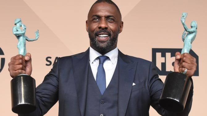 facebook.com  Idris Elba was one of the many big wins of the evening.