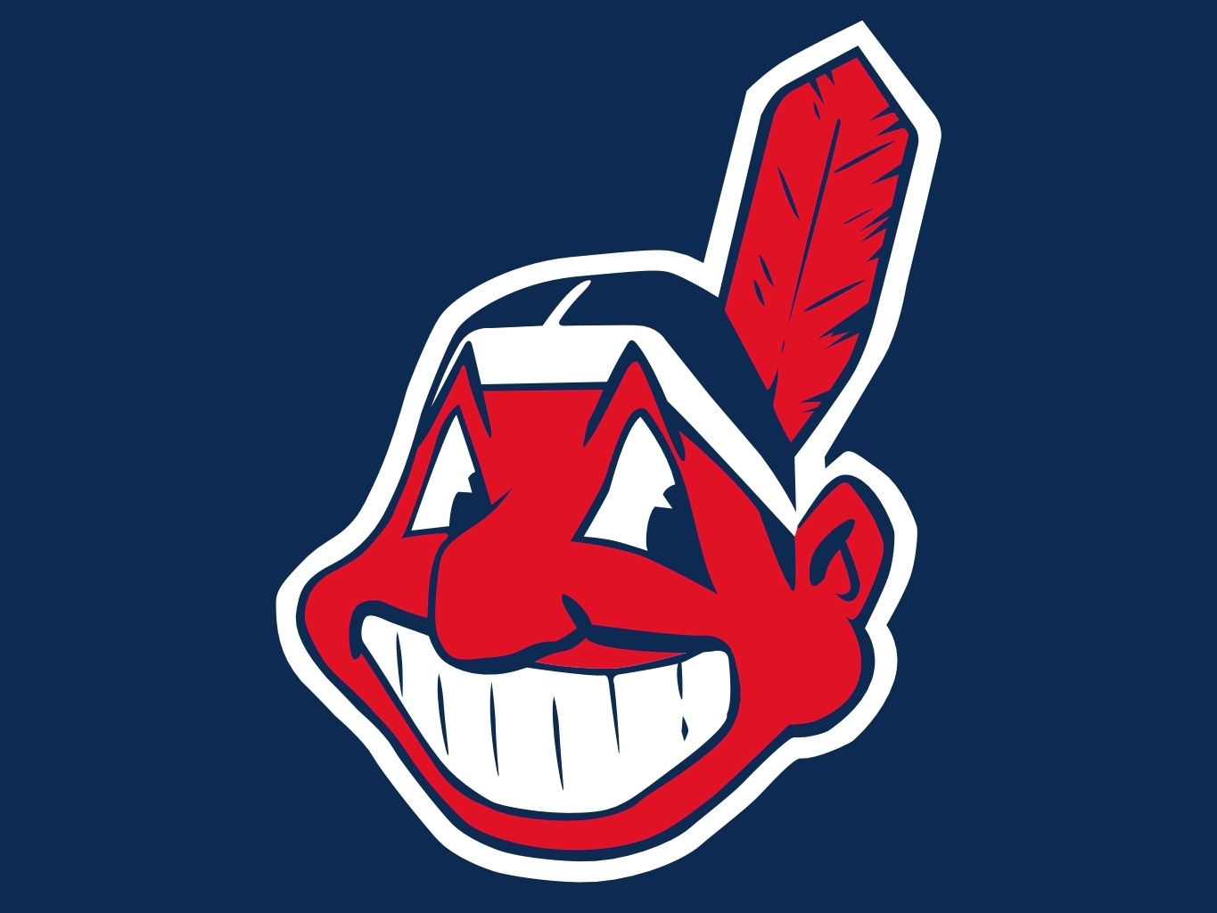 "Cleveland Indians' ""Cheif Wahoo"""