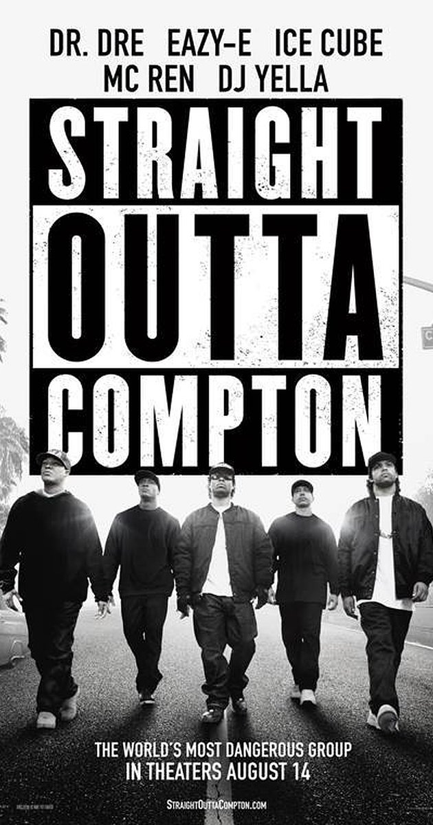 Straight Out of Compton is the highest grossing biopic to date, earning over $161 million since its August 2015 release.