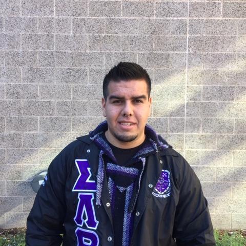 """""""Having an agenda.""""   Felipe Remirez, senior, Global studies and Spanish major"""