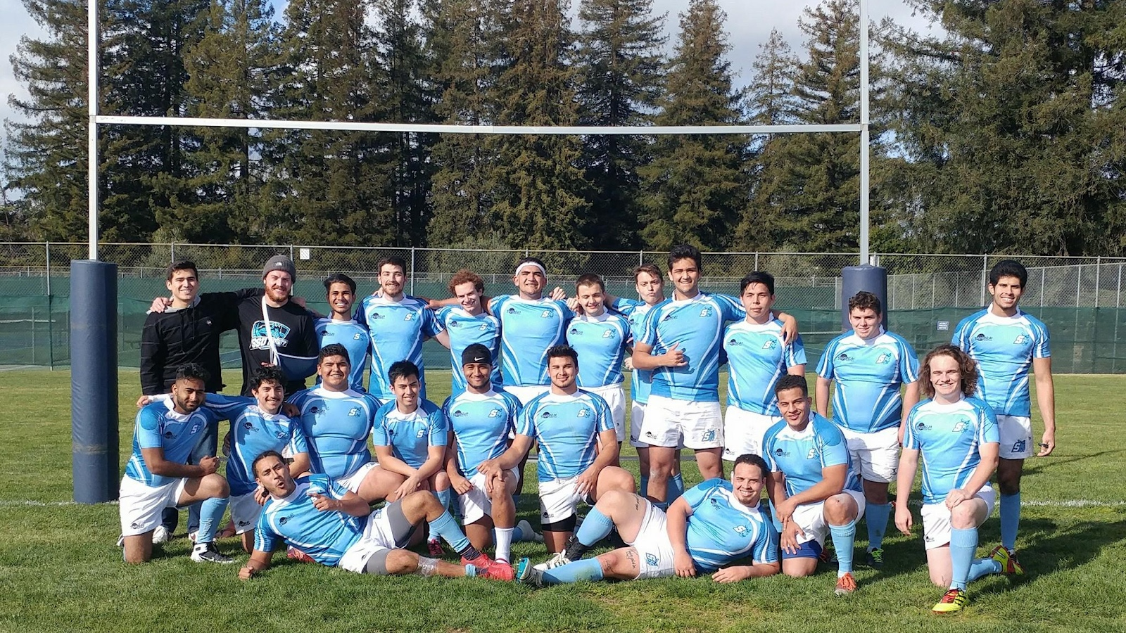 COURTESY // Sonoma State Rugby club   The Sonoma State men's rugby team.