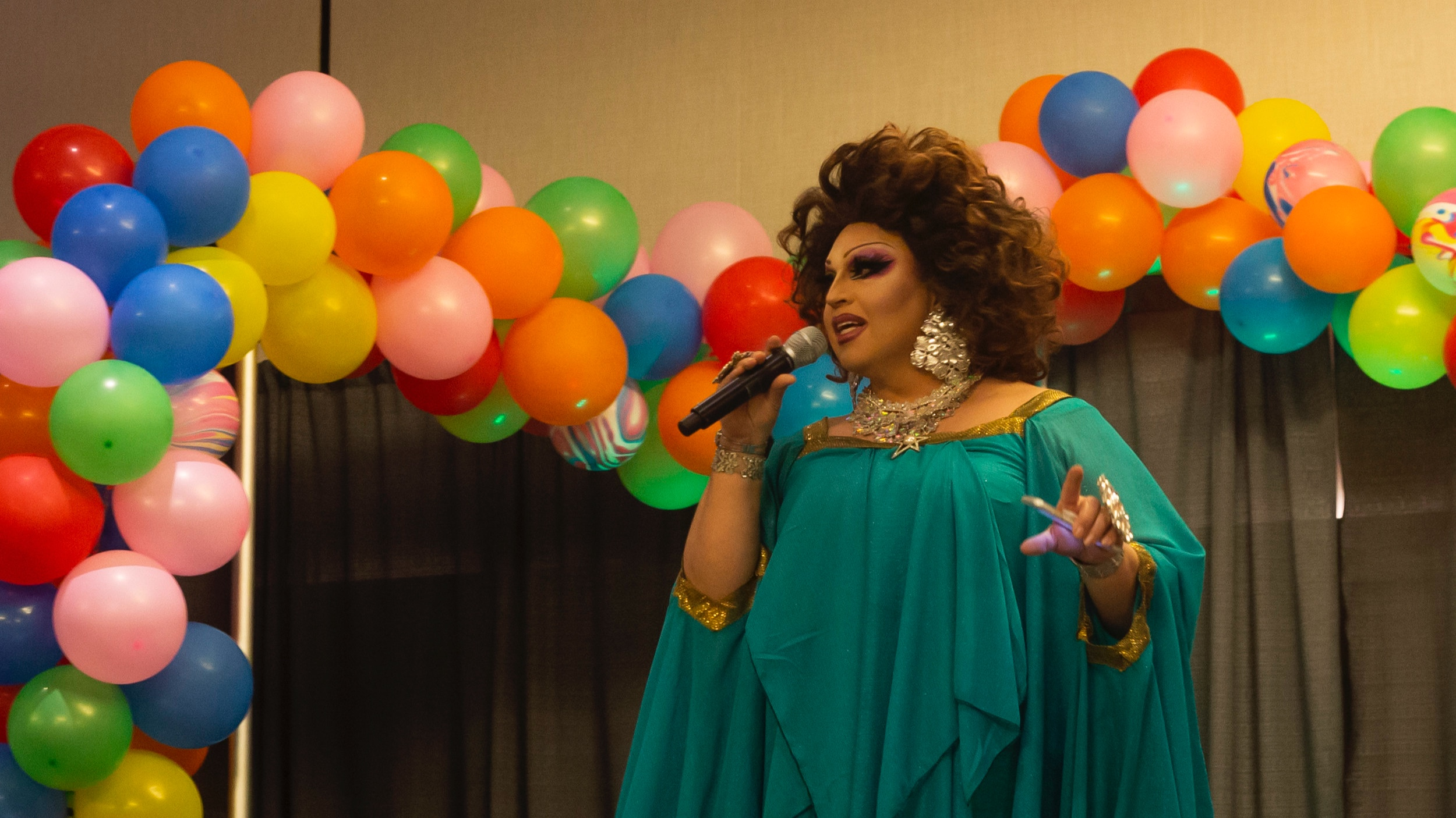 STAR// Brandon Sparks   Special guest Landa Lakes hosted the Gender Bender and Rainbow Prom on Saturday, April 27.