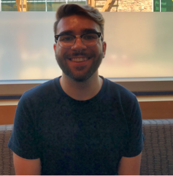 """""""This semester I want to take control of my time management and keep a planner close to me so that I can stay organized.""""       -Myles Grabau, Sophomore, Communications major"""