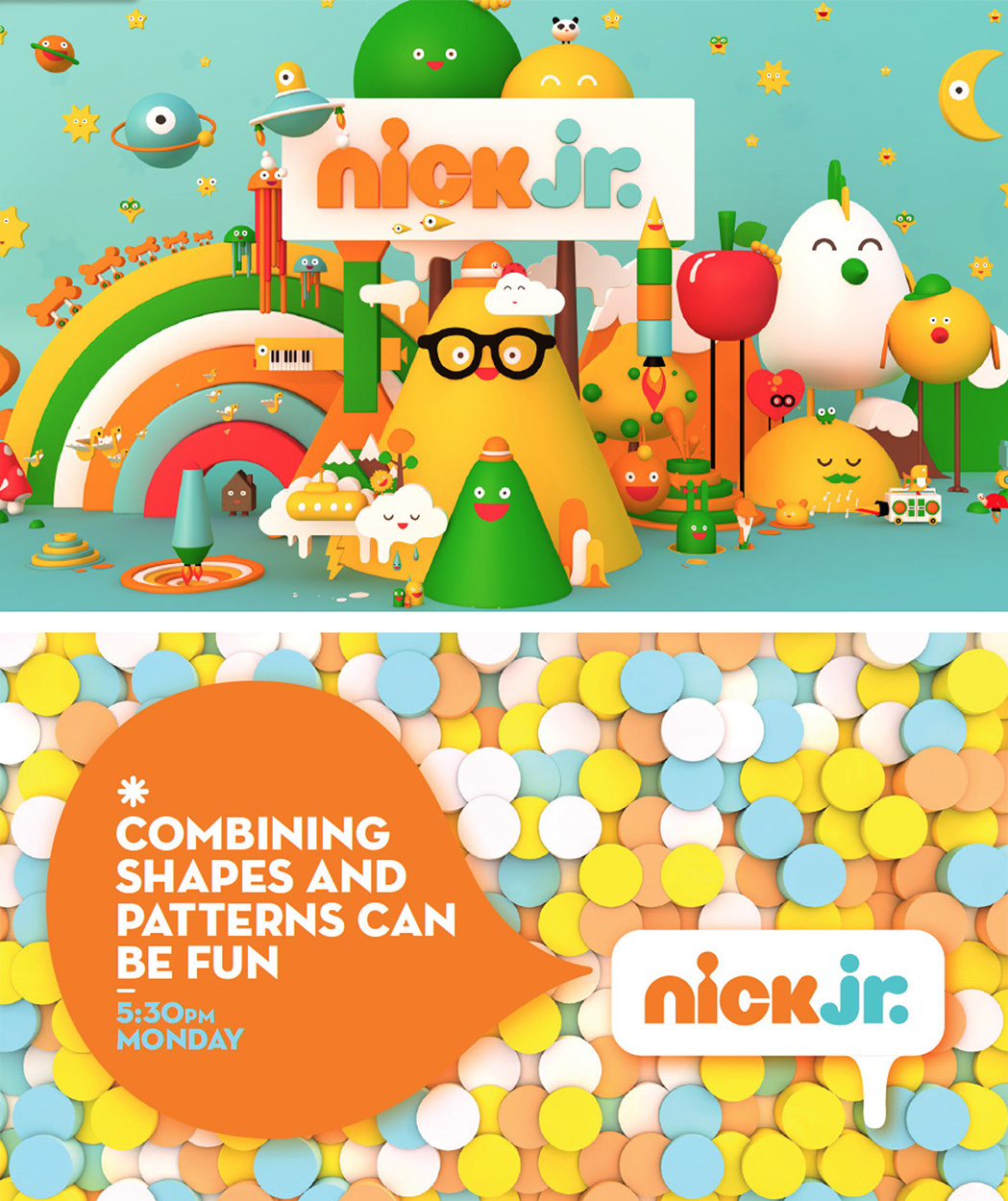 Nick Jr. network rebrand | Friends With You -