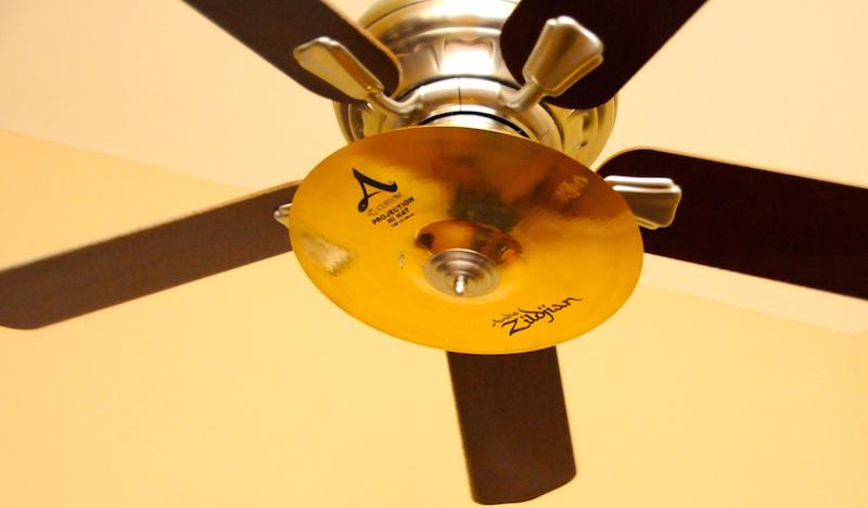 Cymbal Fans, Not Ceiling Fans