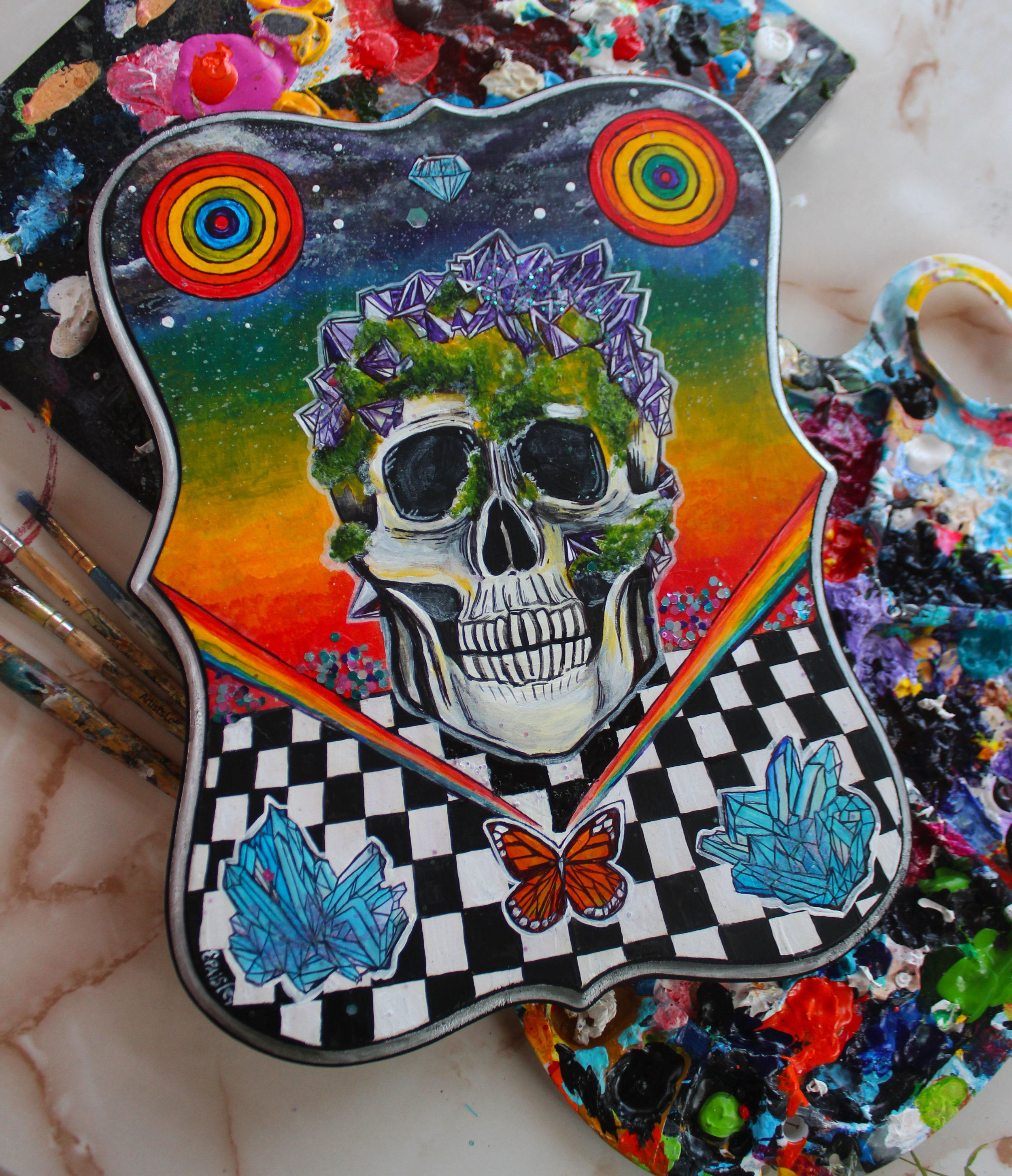 Rainbow Crystal Skull 2017 2/2