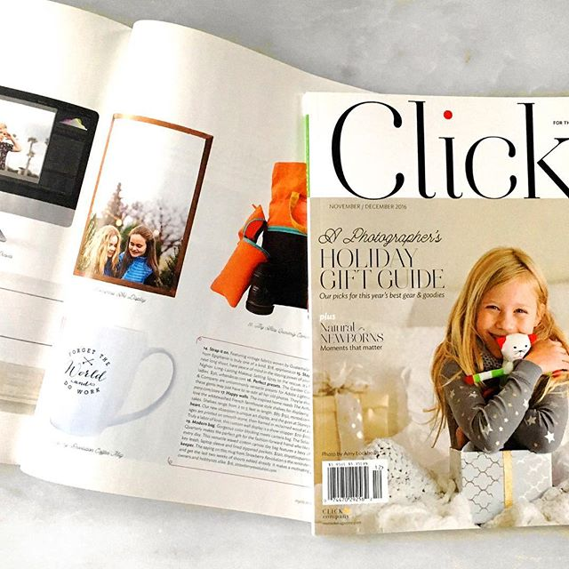 Thanks #clickmagazine for including #stonepressprints in your #holidaygiftguide this year. Get your holiday #printsonstone  ordered for a unique #christmasgiftidea