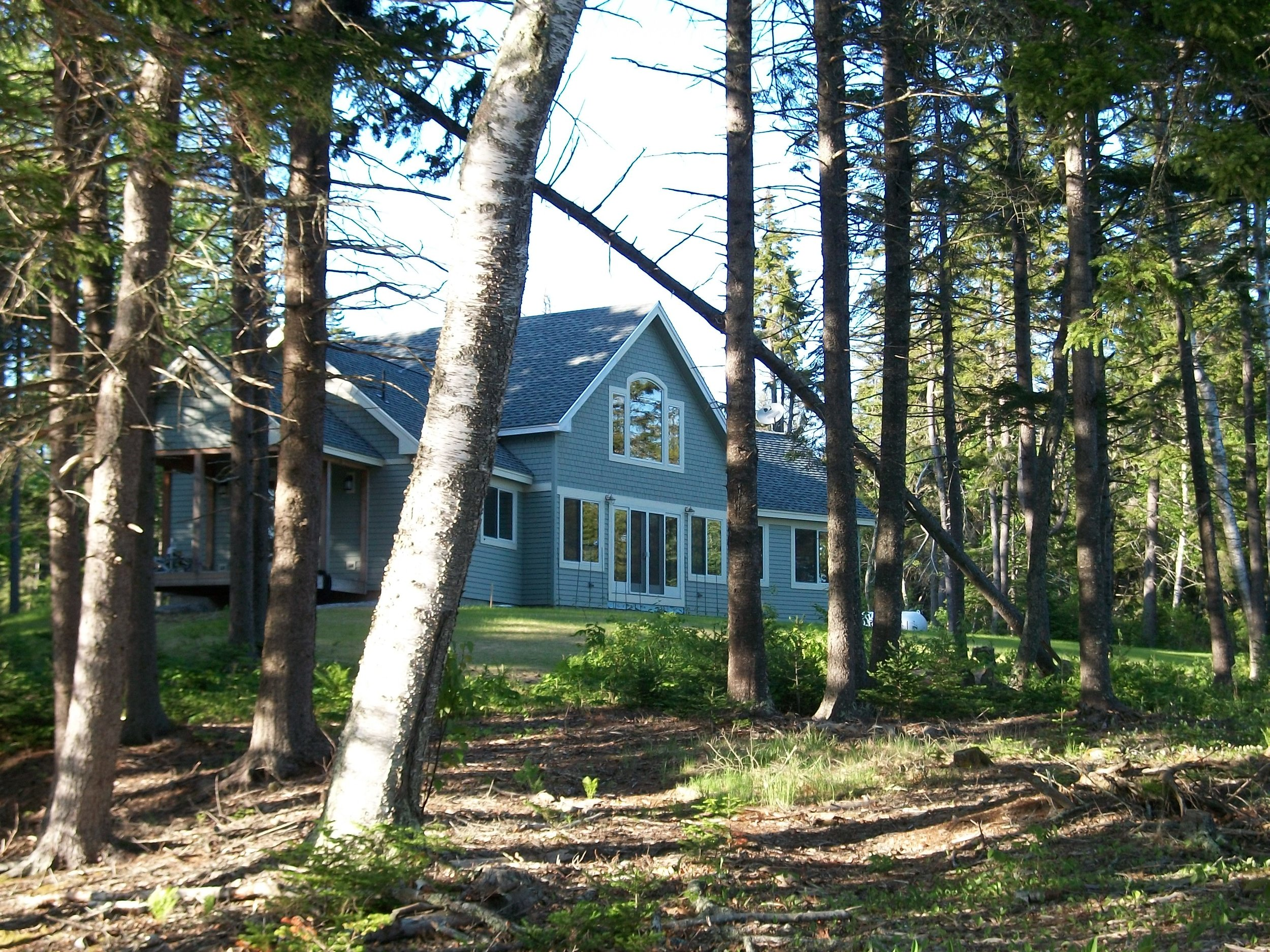 The house in Maine.