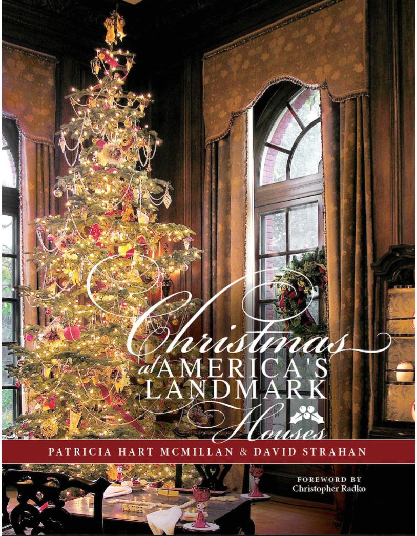 Christmas In America Book.Christmas At America S Landmark Houses Book Signing