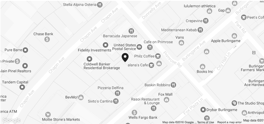 street map view