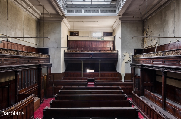 Abandoned Court house UK