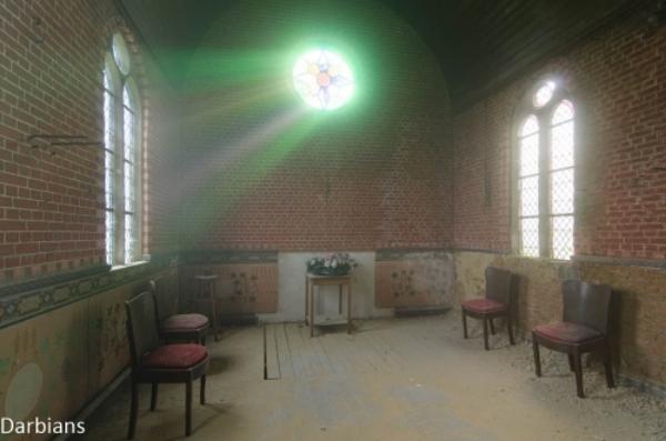 Abandoned chapel Belgium