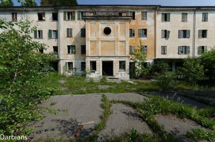 Abandoned: Red Cross Hospital Italy.