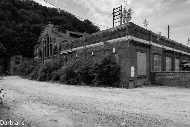 Belgium, abandoned factory
