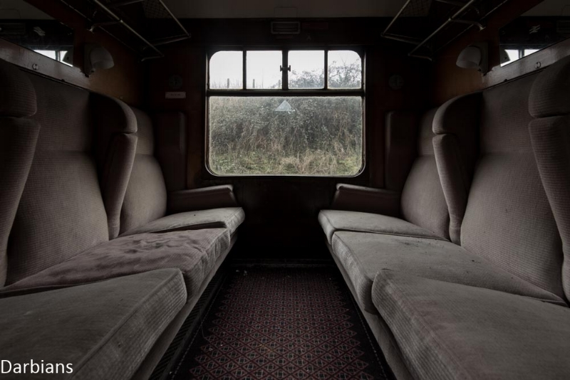 Abandoned train Norfolk