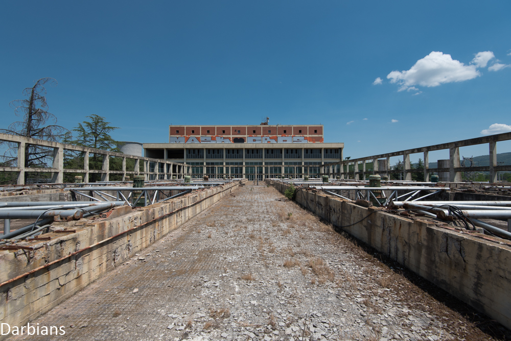 abandoned power station italy