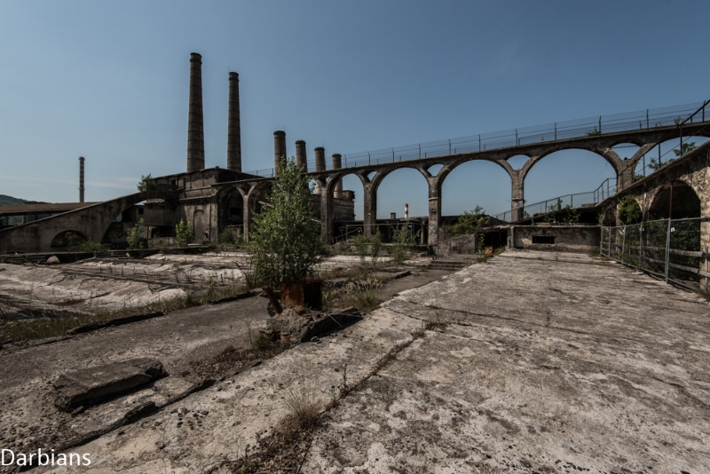 Abandoned Cement Works