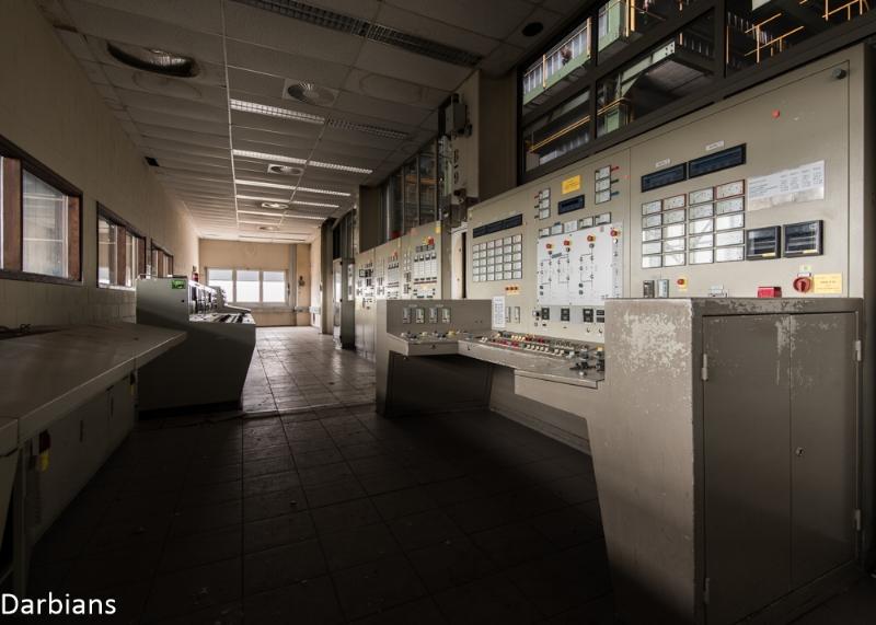 Control room Genk
