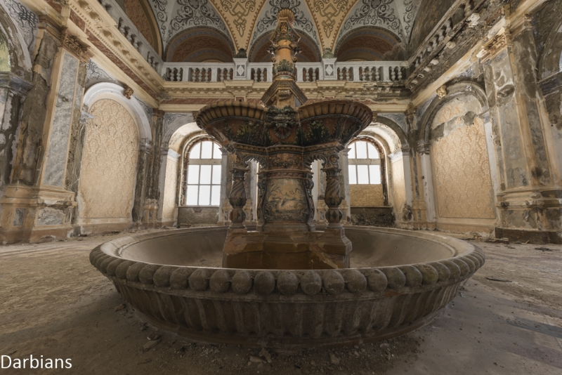 Abandoned Bath House Romania
