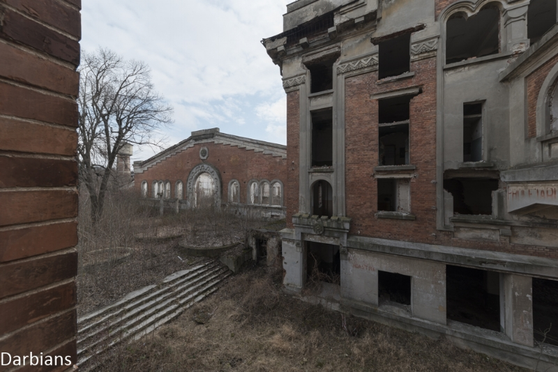Abandoned power station Romania