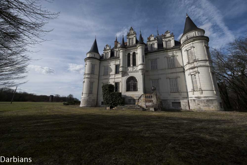 Abandoned Chateau France