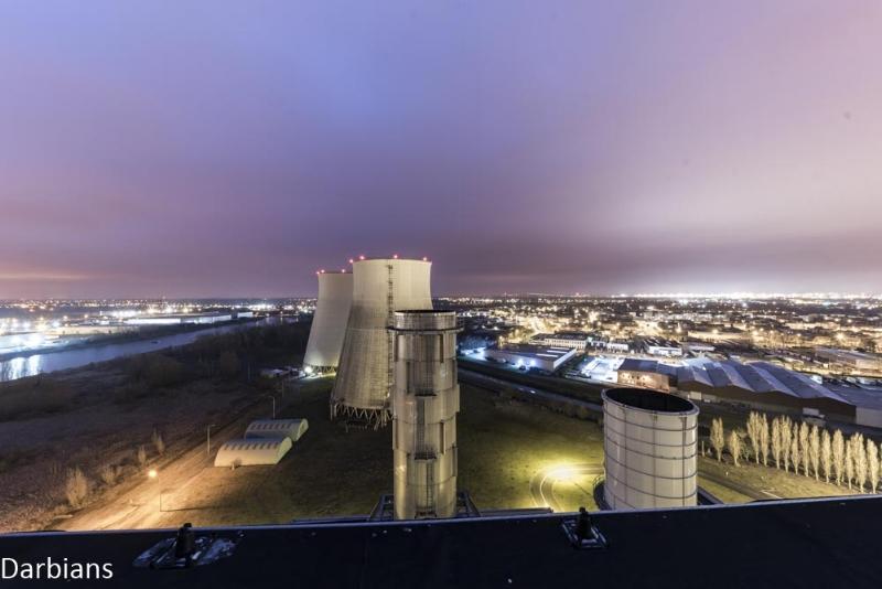 Vilvoorde Power Station Belgium